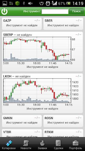 Сбербанк Мобильный Трейдинг screenshot 1