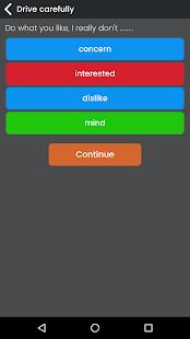 English Grammar Test Ekran Görüntüsü
