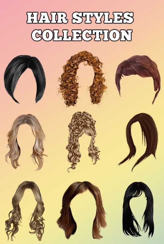 Girls Hairstyle Change Camera Editor- screenshot