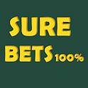 SURE Bets - Predictions Foot 100% icon