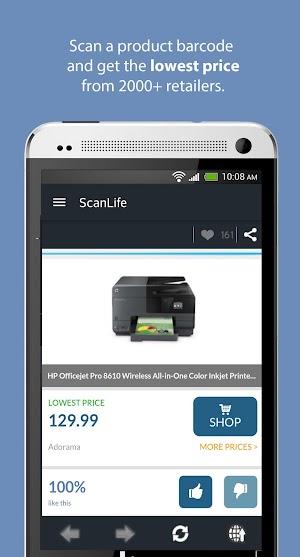 1 ScanLife Barcode & QR Reader App screenshot