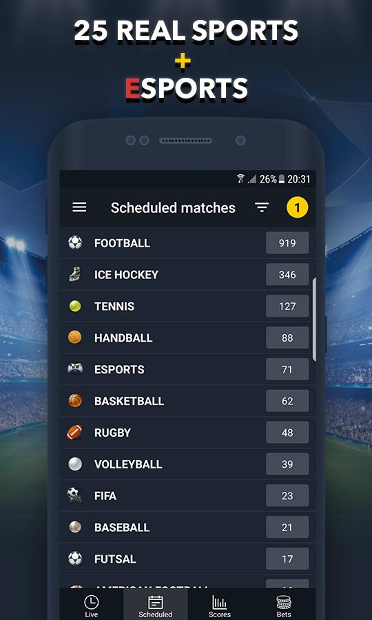 BETUP - Sports Betting Game & Live Scores Android 4
