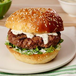 Easy Caesar Burger.