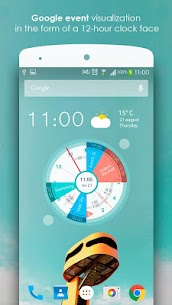 Sectograph. Planner & Time manager on clock widget Pro v5.7.2 Cracked APK 1