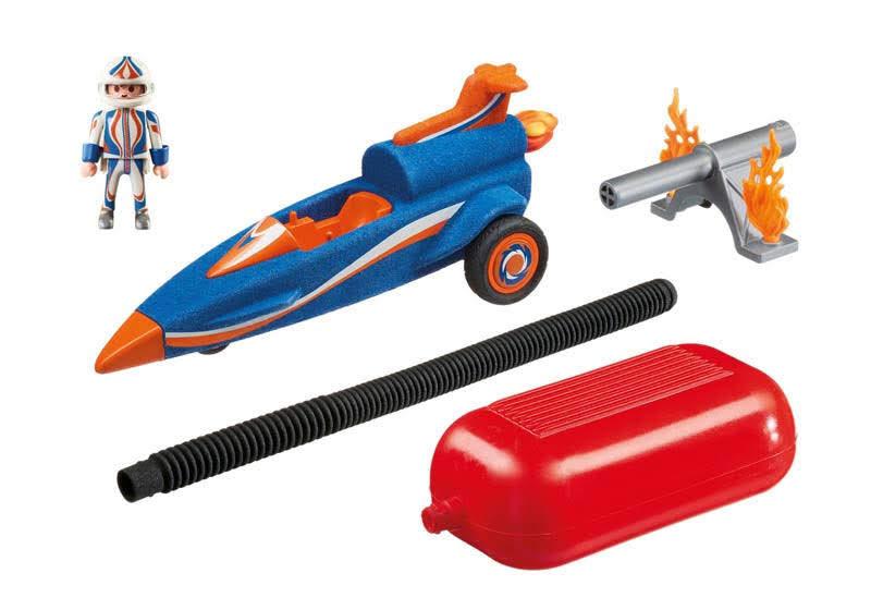 Contenido Real de Playmobil® 9375 Bólido con Propulsor