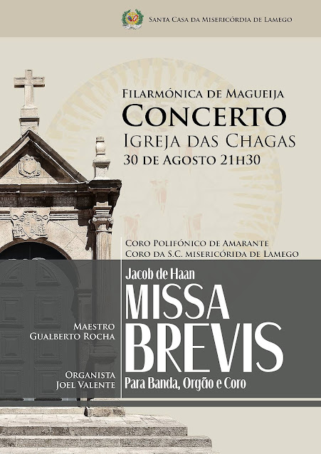 "Misericórdia de Lamego apresenta ""Missa Brevis"" durante as Festas dos Remédios"