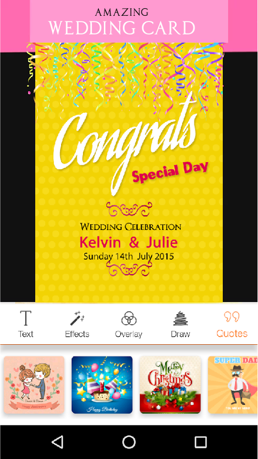 Invitation maker rsvp maker android apps on google play invitation maker rsvp maker screenshot stopboris Choice Image
