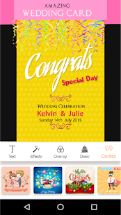 Invitation maker rsvp maker apps on google play screenshot image stopboris Gallery