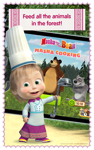 Masha and Bear: Cooking Dash  screenshots 11