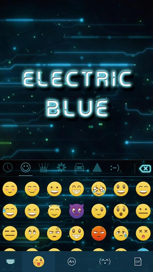 Electric-Blue-Keyboard-Theme 7