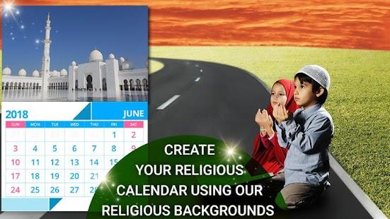 2018 Calendar - Photo Calendar, Gods Calendar - náhled
