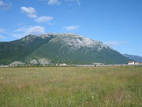 Photo: pogled na Kamešnicu - naš današnji cilj