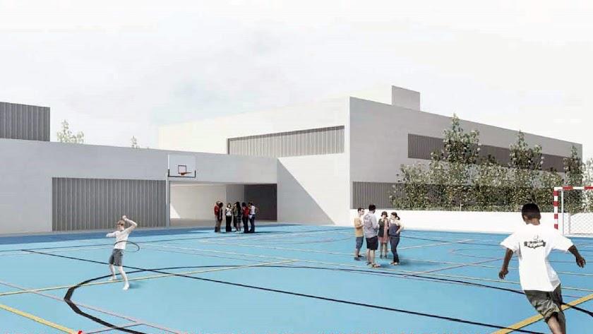Así será el aspecto del nuevo Centro Educativo.