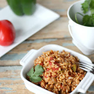 Crock-pot Mexican Rice or Spanish Rice.