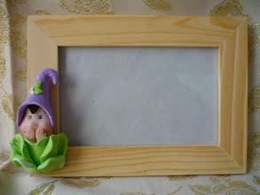 Photo: Cornice semplice in legno codice COR163