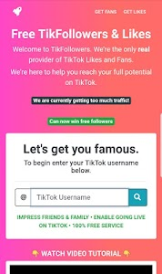 Download TikFans : Free Followers & Likes APK latest version