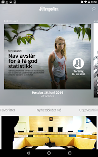 Aftenposten+- screenshot thumbnail