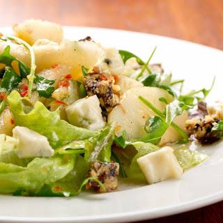 Pear and Walnut Salad.