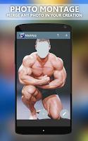 Screenshot of Photomontage editor