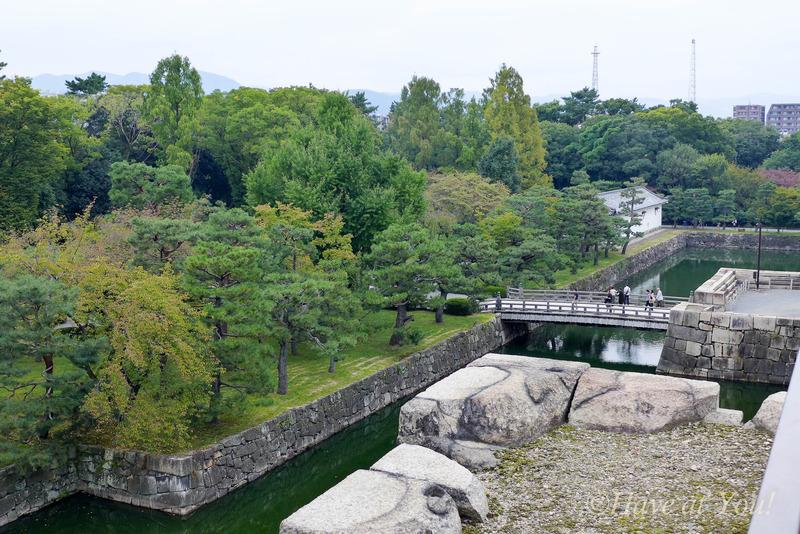 Nijo Castle moat