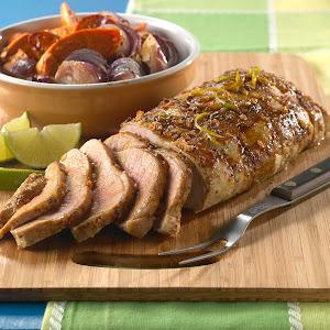 Cuban Glazed Pork Loin