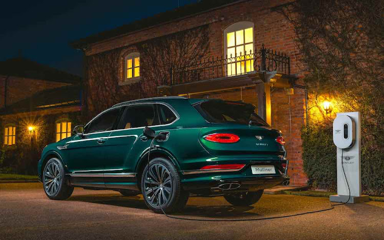 Bentley is well on the road to electrification will models like its Bentayga plug-in hybrid.