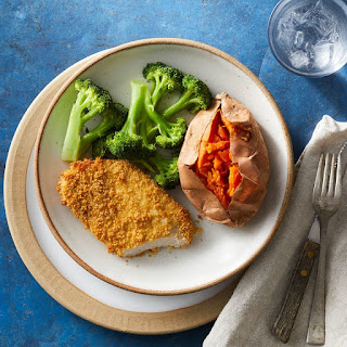 Healthy Oven-Fried Pork Chops.