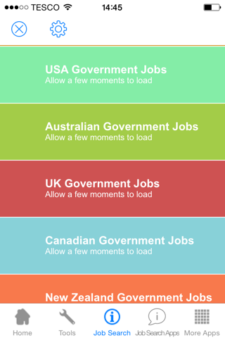 Government Jobs- screenshot