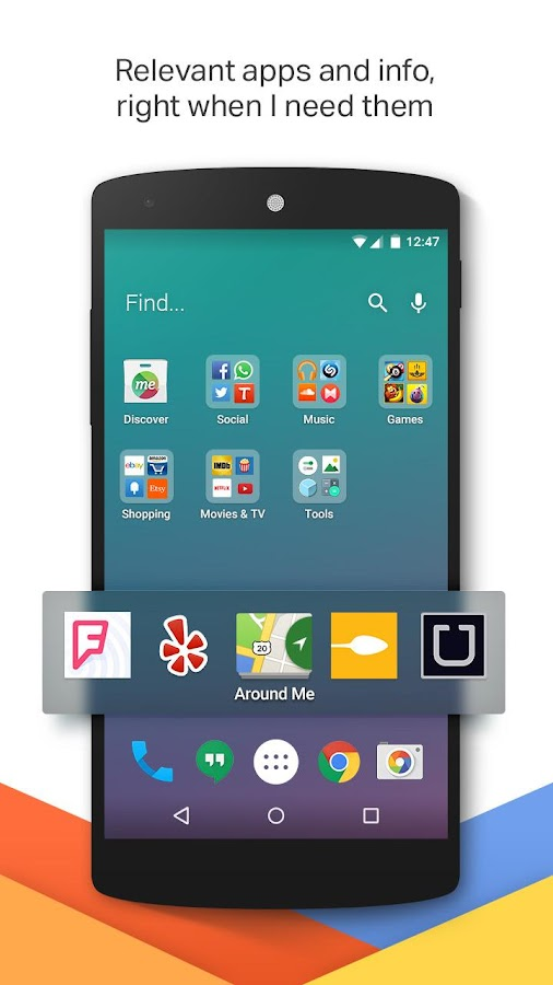 EverythingMe Launcher - screenshot