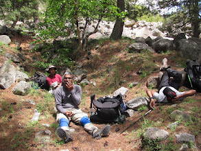 Photo: Day 4 - Our first lunch stop, just short of camp at chirbhasa