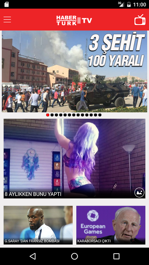 Haberturk TV- screenshot