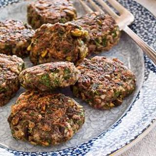 Pistachio Breakfast Sausage Patties