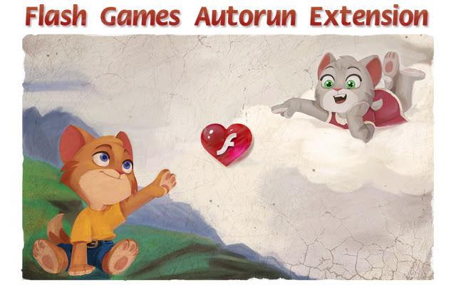 Flash games autorun