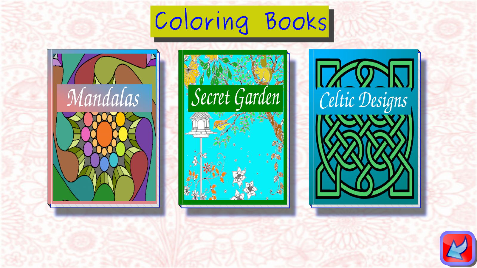Coloring books for adults android apps on google play Coloring book for adults android
