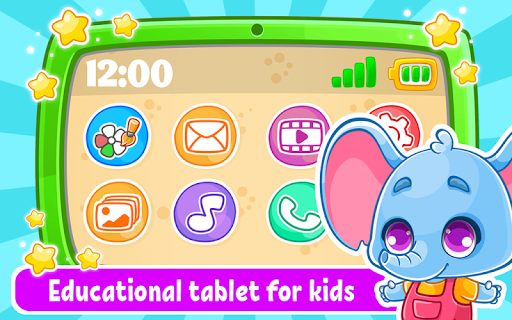 Babyphone & tablet - baby learning games, drawing screenshots 1