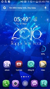 Firework 2016  eTheme Launcher screenshot 2