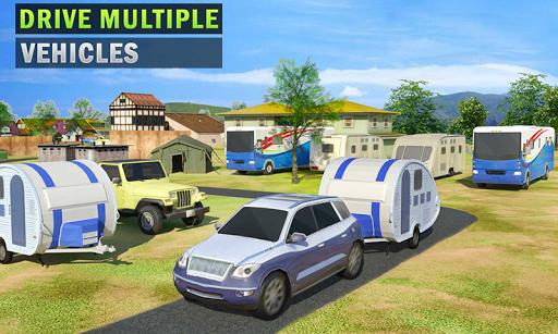 Camper Van Truck Simulator: Cruiser Car Trailer 3D 1.10 screenshots 2