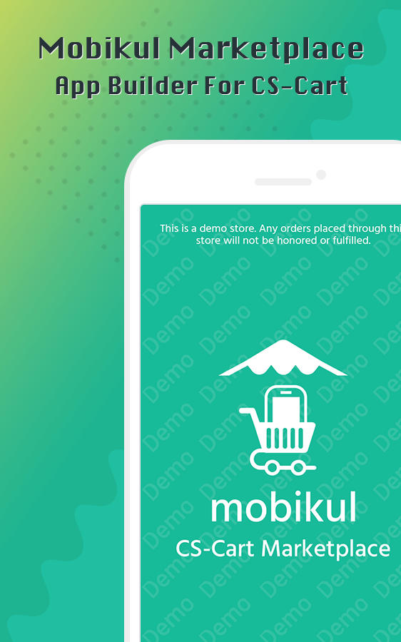 CS-Cart Mobikul Multivendor Mobile App Builder- screenshot
