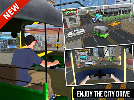 Off Road Tuk Tuk Auto Rickshaw screenshots 16