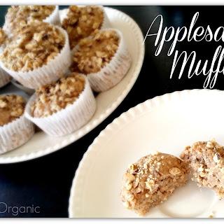 Applesauce Muffins Recipe