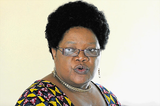 DETERMINED: Joyce Mujuru is backed by constitution, party
