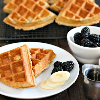 Oatmeal Waffles (Freezer Friendly)
