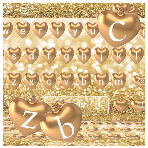 Golden Love Keyboard