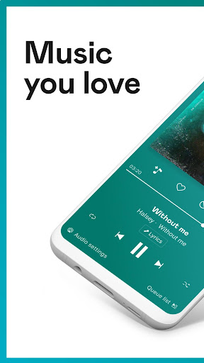 Deezer Music Player screenshot 1