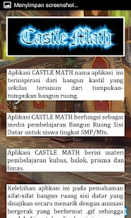 Download Bangun Ruang Castle Math For PC Windows and Mac apk screenshot 4