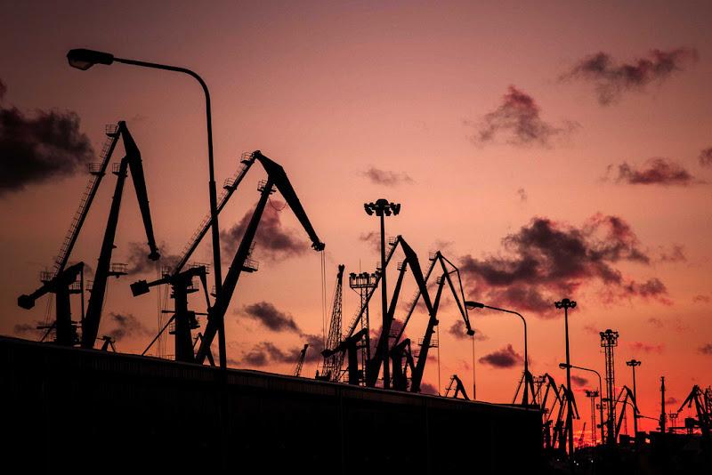 tramonto meccanico di antonioromei