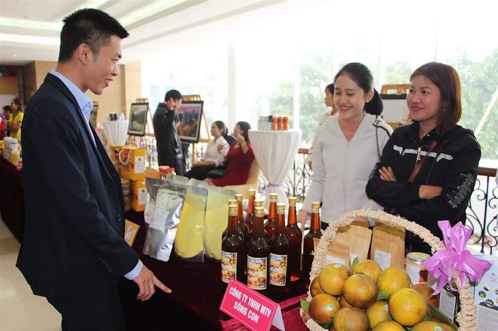 Nhiều sản phẩm nông nghiệp đặc thù của Nghệ An đã tạo dựng  được chỗ đứng trên thị trường