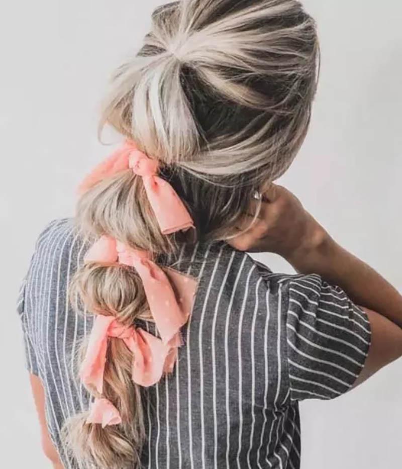 các kiểu buộc tóc với khăn turban