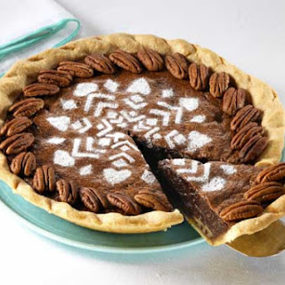 Corn Syrup Free Chocolate Pecan Pie.