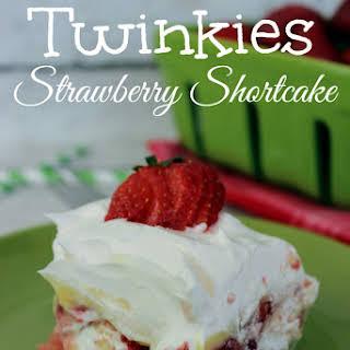No Bake Twinkies Strawberry Shortcake (made with pudding)!.